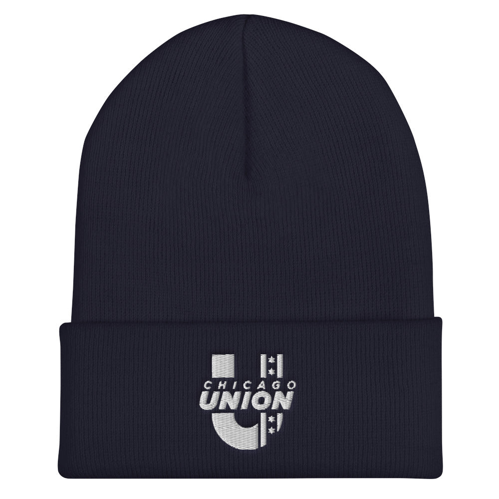 Chicago Union Beanie - Navy