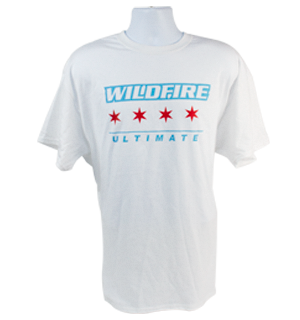 Chicago Wildfire Flag Tee