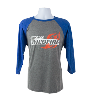 CHICAGO WILDFIRE BASEBALL TEE