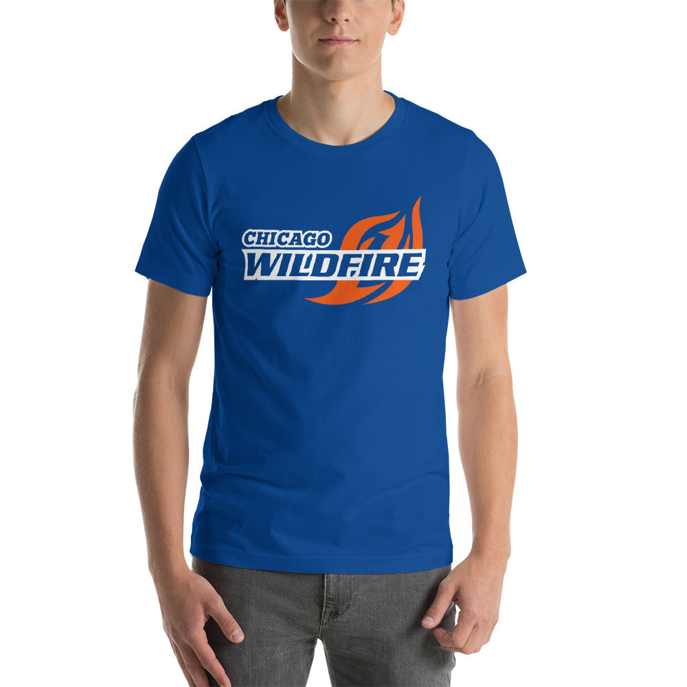Chicago Wildfire T-Shirt - Blue