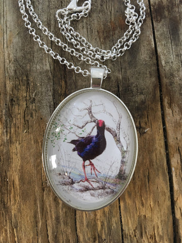Jewellery - New Zealand Pukeko Pendant