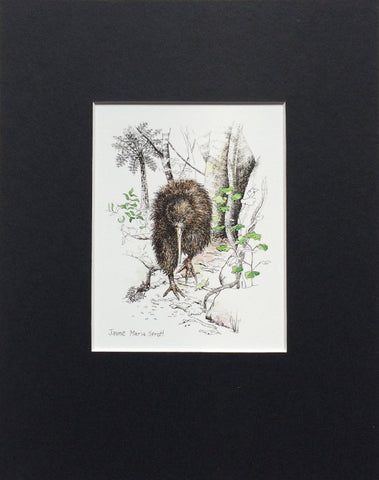Mount, Single - NZ Bird Kiwi