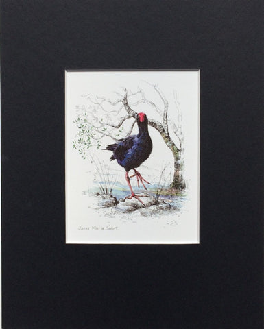 Mount, Single - NZ Bird Pukeko
