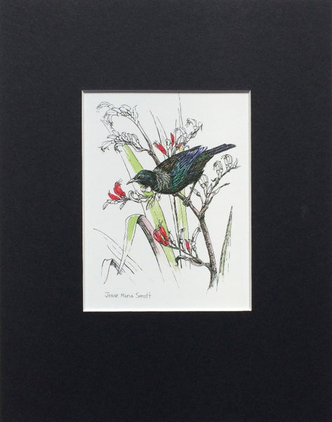 Mount, Single - NZ Bird Tui