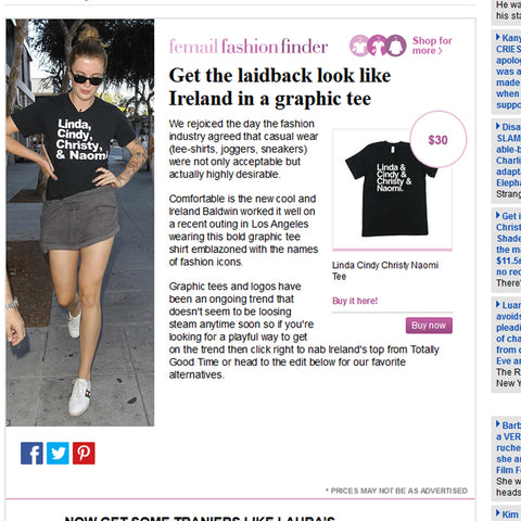 The Daily Mail Ireland Baldwin Totally Good Time