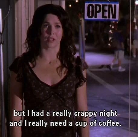 Gilmore Girls Coffee Quote Gif