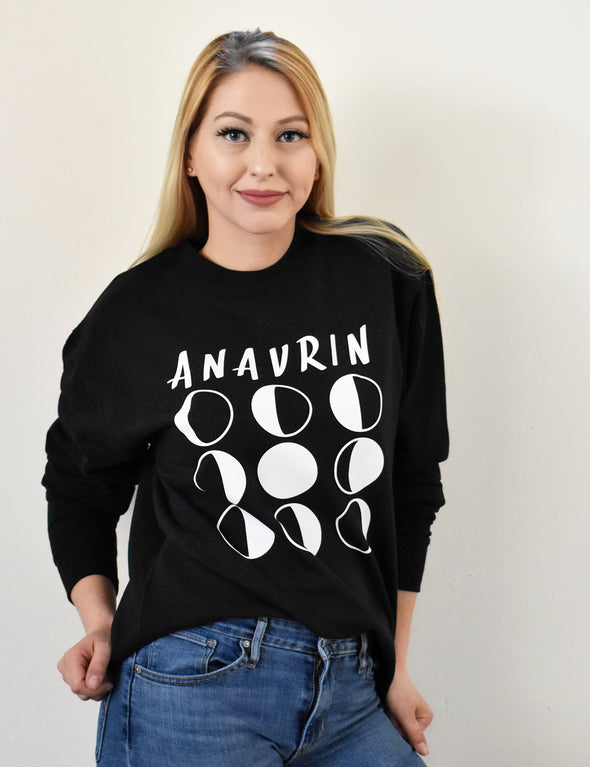 Anavrin Sweatshirt - Black