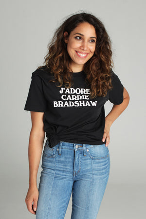 J'Adore Carrie Bradshaw Tee - Totally Good Time