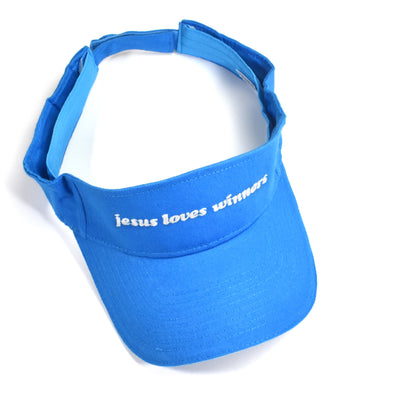 Drop Dead Gorgeous Jesus Loves Winners Visor Hat - Totally Good Time