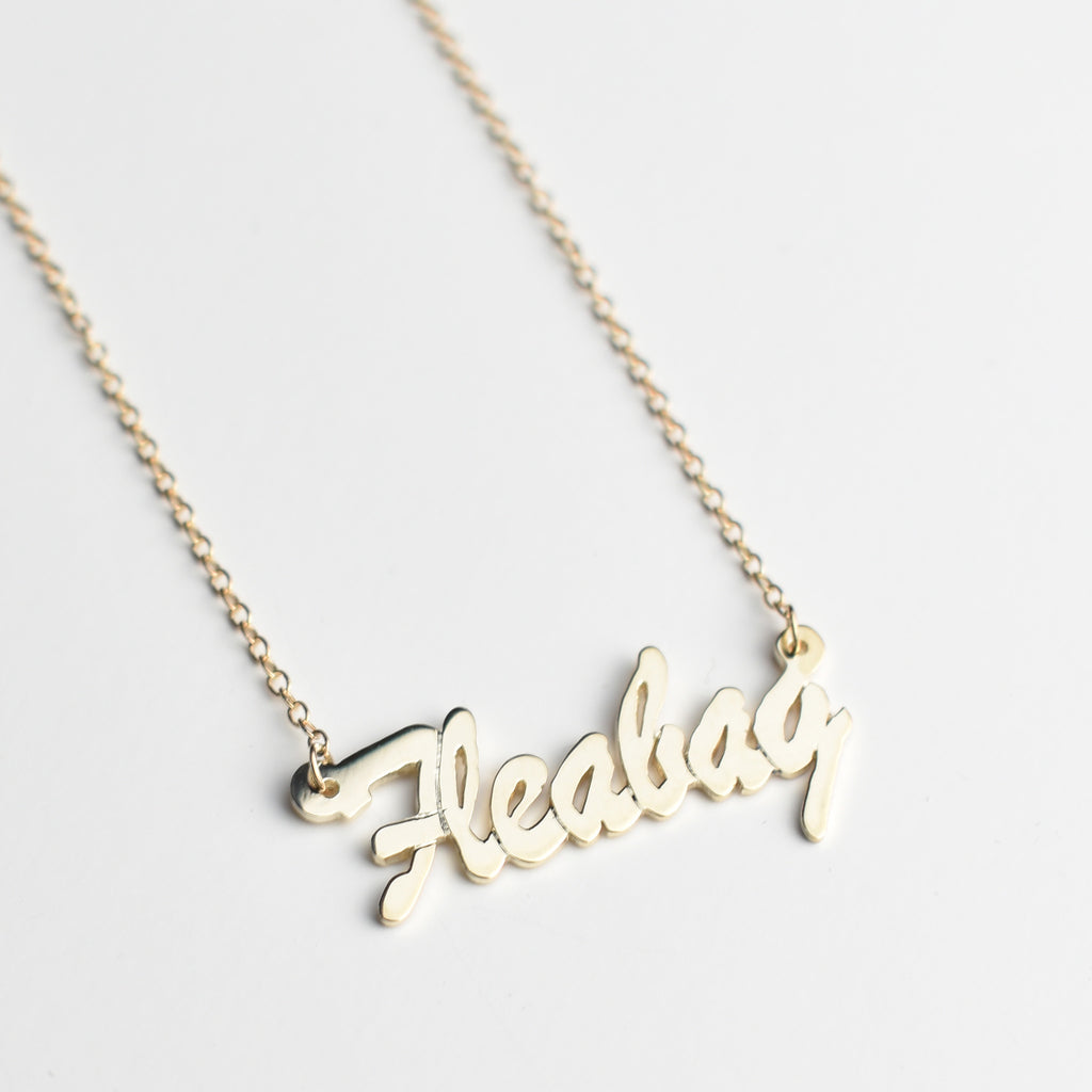 Fleabag Name Necklace