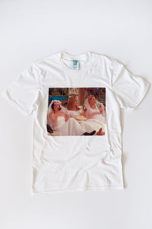 Friends The One with All the Wedding Dresses Photo Tee - Totally Good Time