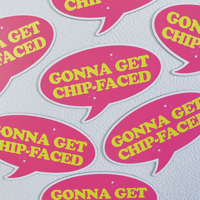 Miss Congeniality Gonna Get Chip-Faced Magnet