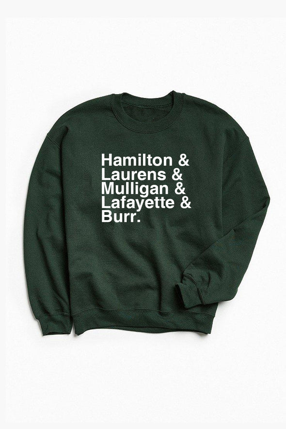 Hamilton Sweatshirt - Forest Green