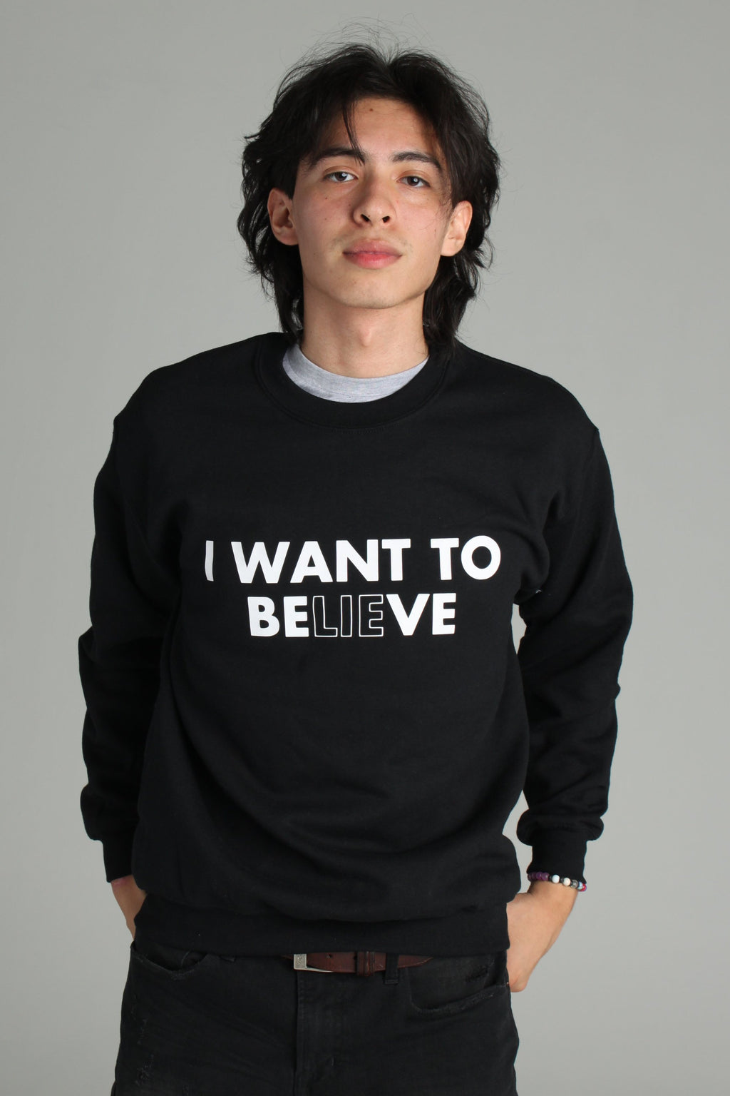 The X Files I Want To Believe Sweatshirt