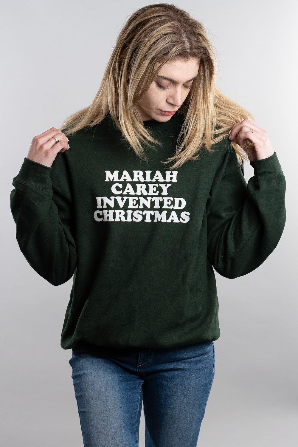 Mariah Carey Invented Christmas Sweatshirt