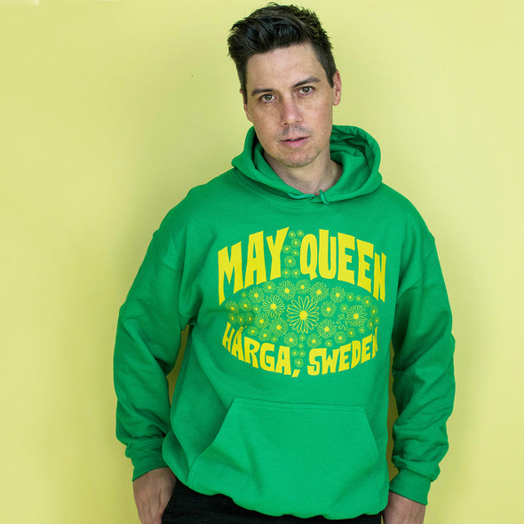 Midsommar May Queen Hoodie Sweatshirt - Green
