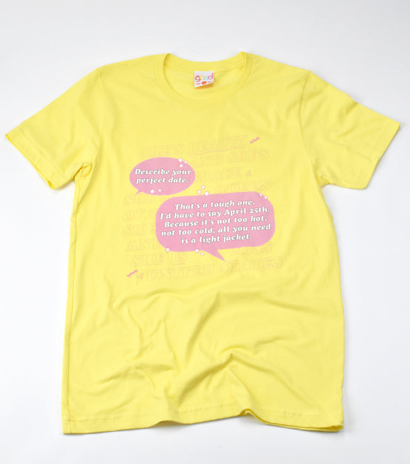 Miss Congeniality The Perfect Date Tee - Totally Good Time