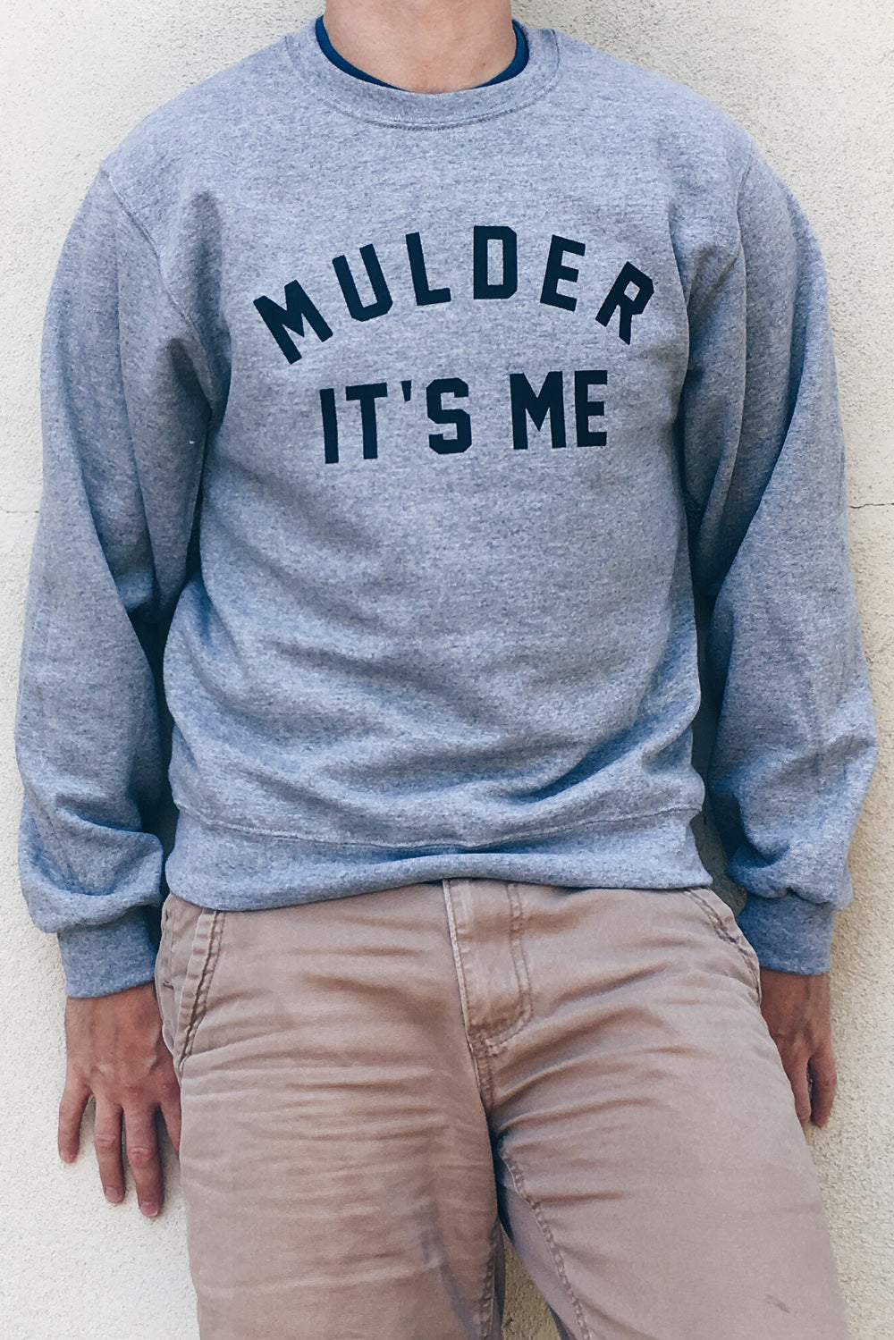 Mulder It's Me The X-Files Sweatshirt - Totally Good Time
