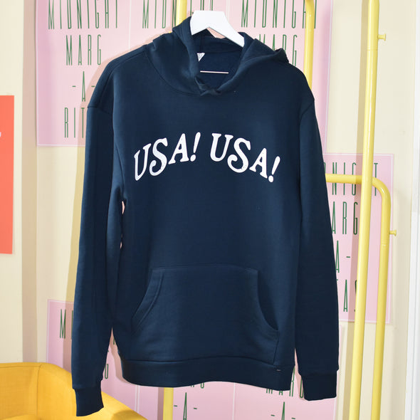 New Girl True American Hoodie - Navy