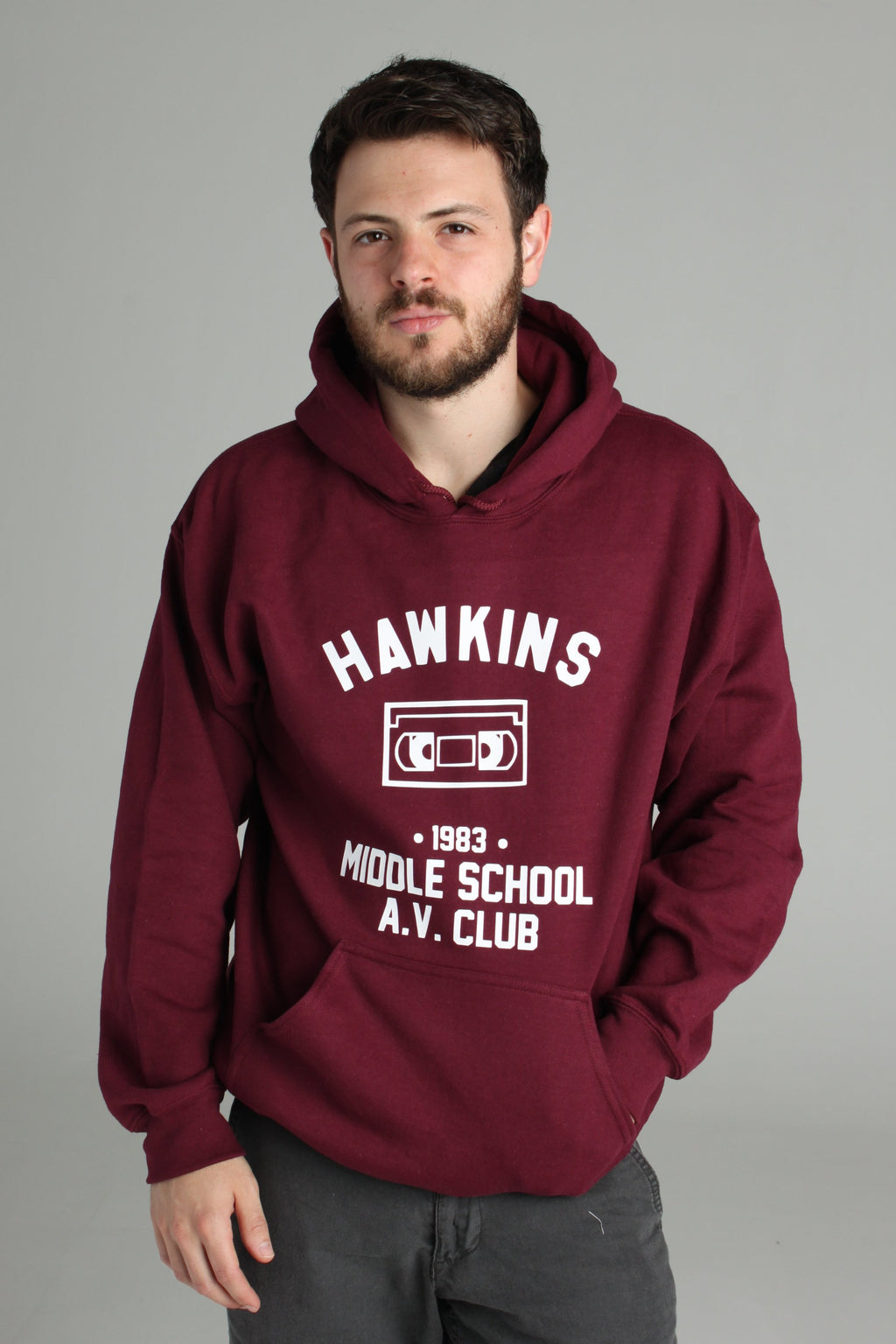 Stranger Things Hawkins Middle School A.V. Club Hoodie