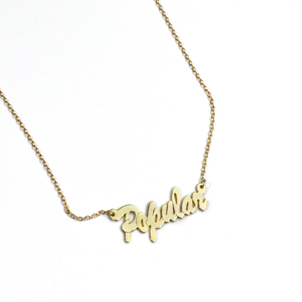 Popular Name Necklace