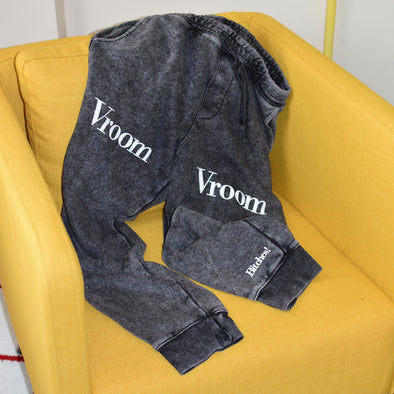Schitt's Creek Vroom Vrrom B*****! Joggers - Mineral Wash