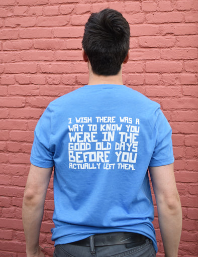 The Office Good Old Days Tee - Blue