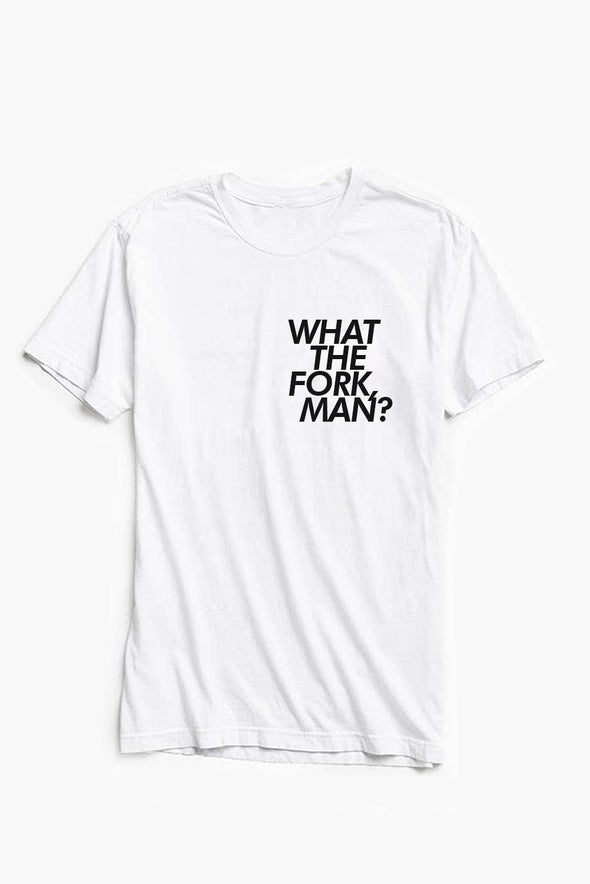 The Good Place What The Fork Man Tee