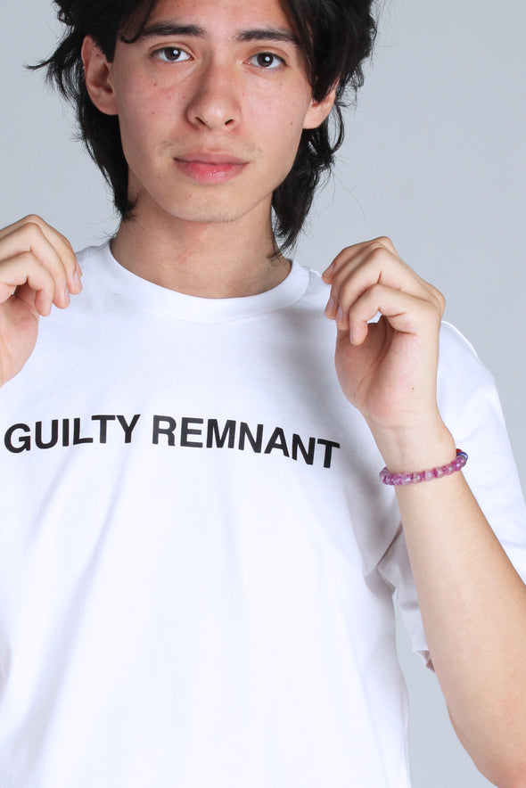 The Leftovers Guilty Remnant Tee - Totally Good Time