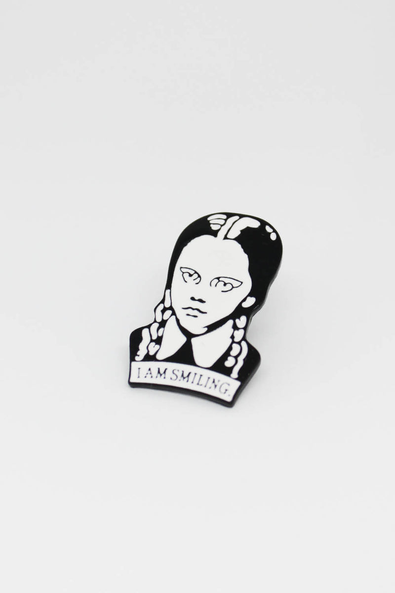 Enamel Pin - Wednesday Adams Pin - Totally Good Time