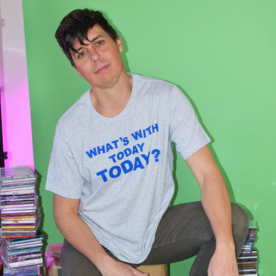 Empire Records What's With Today Today Tee - Light Gray