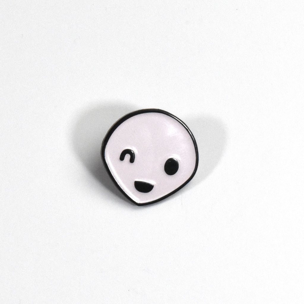 Winking Alien Pin