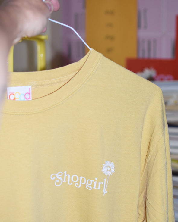 You've Got Mail Long Sleeve Tee - Mustard