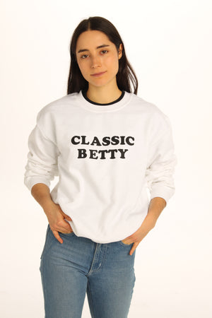 Classic Betty Unisex Sweatshirt - Totally Good Time