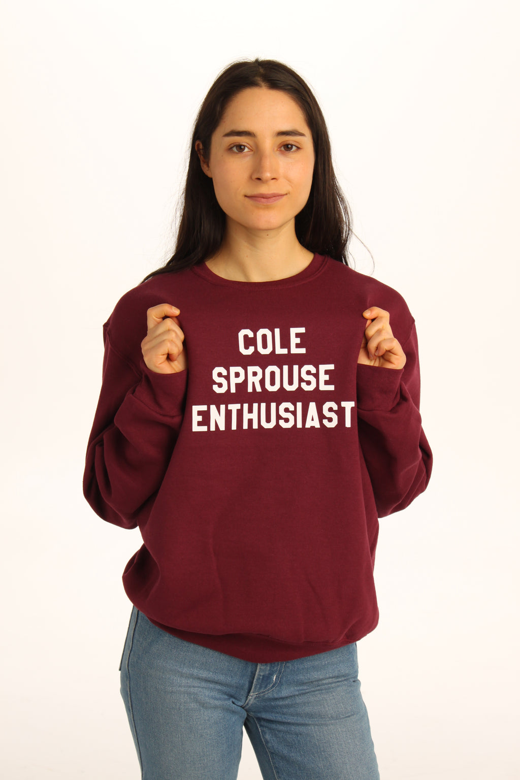 Cole Sprouse Enthusist Sweatshirt - Totally Good Time