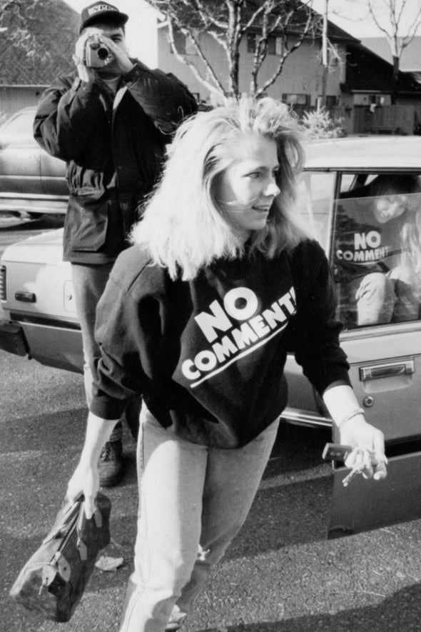 Tonya Harding No Comment Sweatshirt - Black
