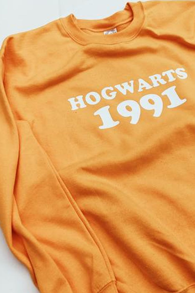 Harry Potter Hogwarts 1991 Sweatshirt - Totally Good Time