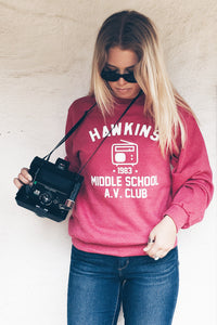 Stranger Things Hawkins Middle School AV Club Sweatshirt - Totally Good Time