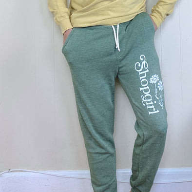 You've Got Mail Shopgirl Joggers - Green