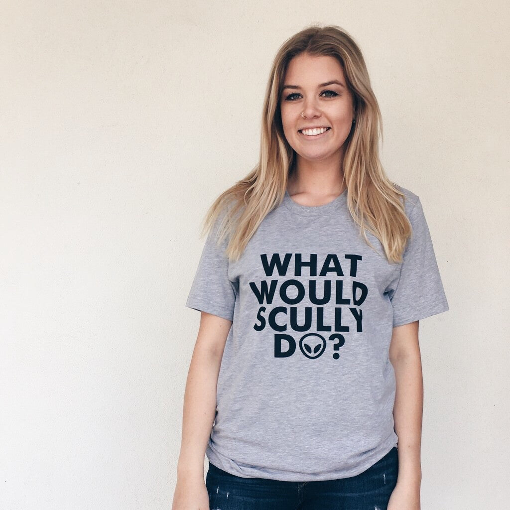 what would scully do the x files unisex tee