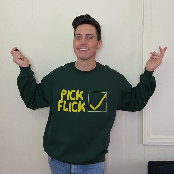 Election Tracy Flick Pick Flick Sweatshirt - Green
