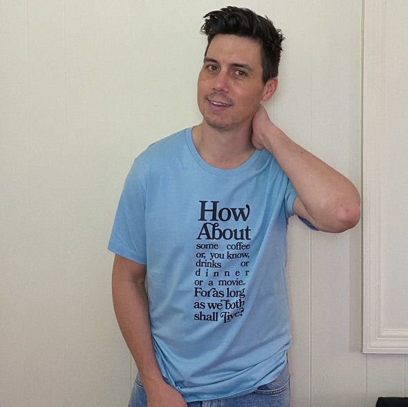 You've Got Mail Joe Fox Tee - Blue