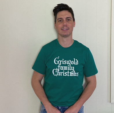 Christmas Vacation Griswold Family Christmas Tee - Green