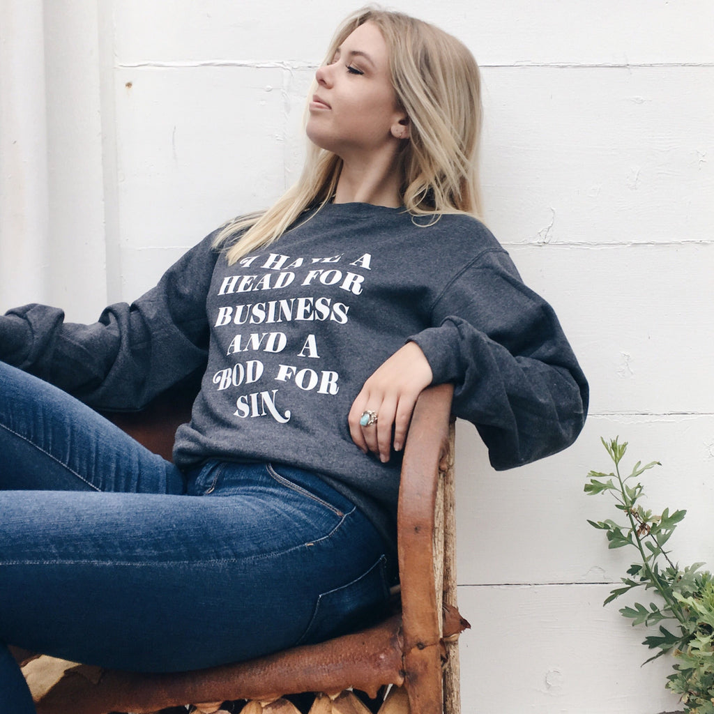 Working Girl Sweatshirt - Totally Good Time