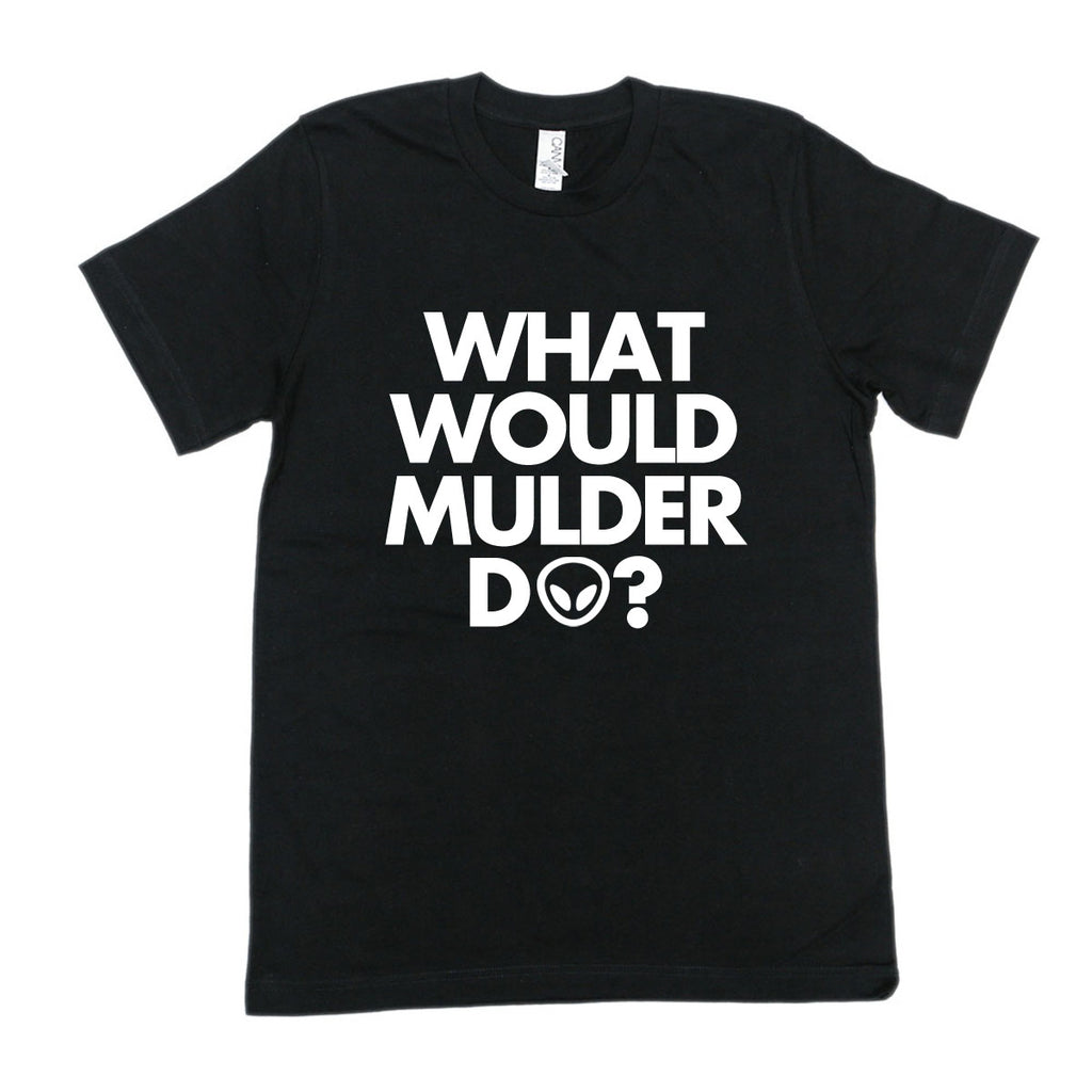What Would Mulder Do? The X Files Unisex Tee - Totally Good Time