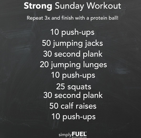 Strong Sunday Workout