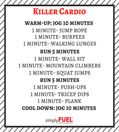 Killer Cardio Workout