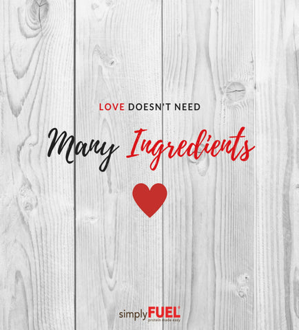 Love Doesn't Need Many Ingredients