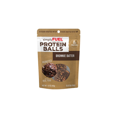 Brownie Batter Protein Balls (6- 2 packs)