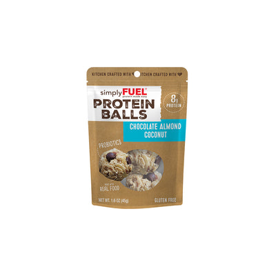 Chocolate Almond Coconut Protein Balls (6- 2 packs)